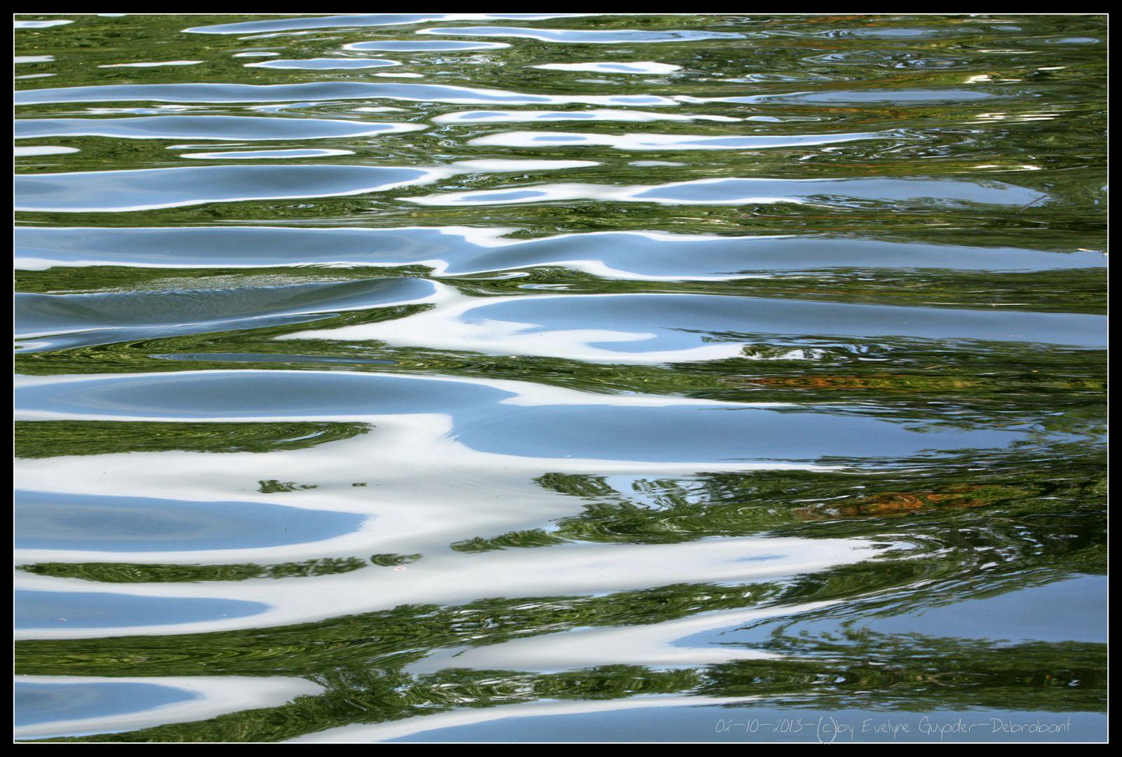 Sur la Seine... des péniches (encore) et des reflets...