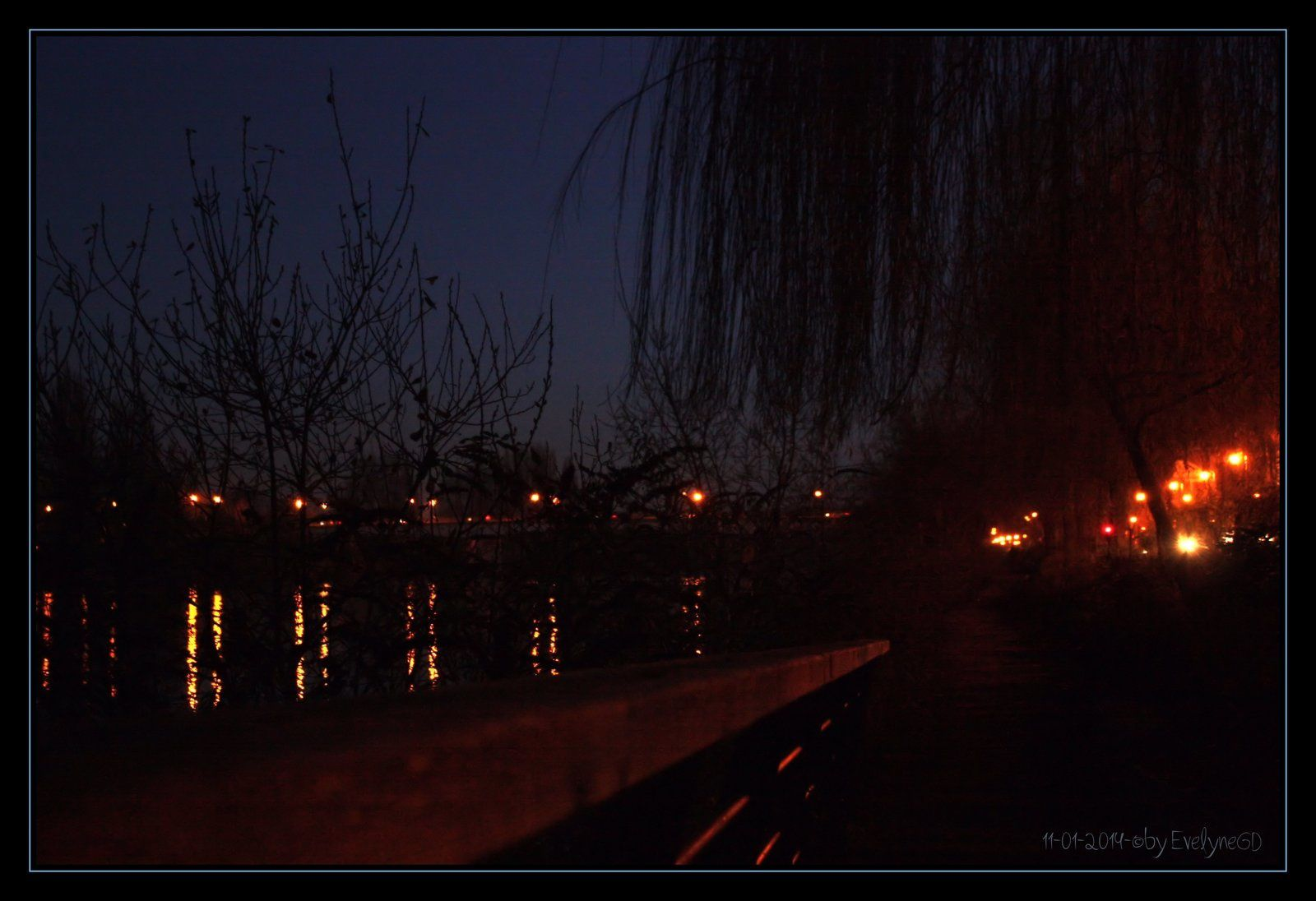 Try to set the night on fire...