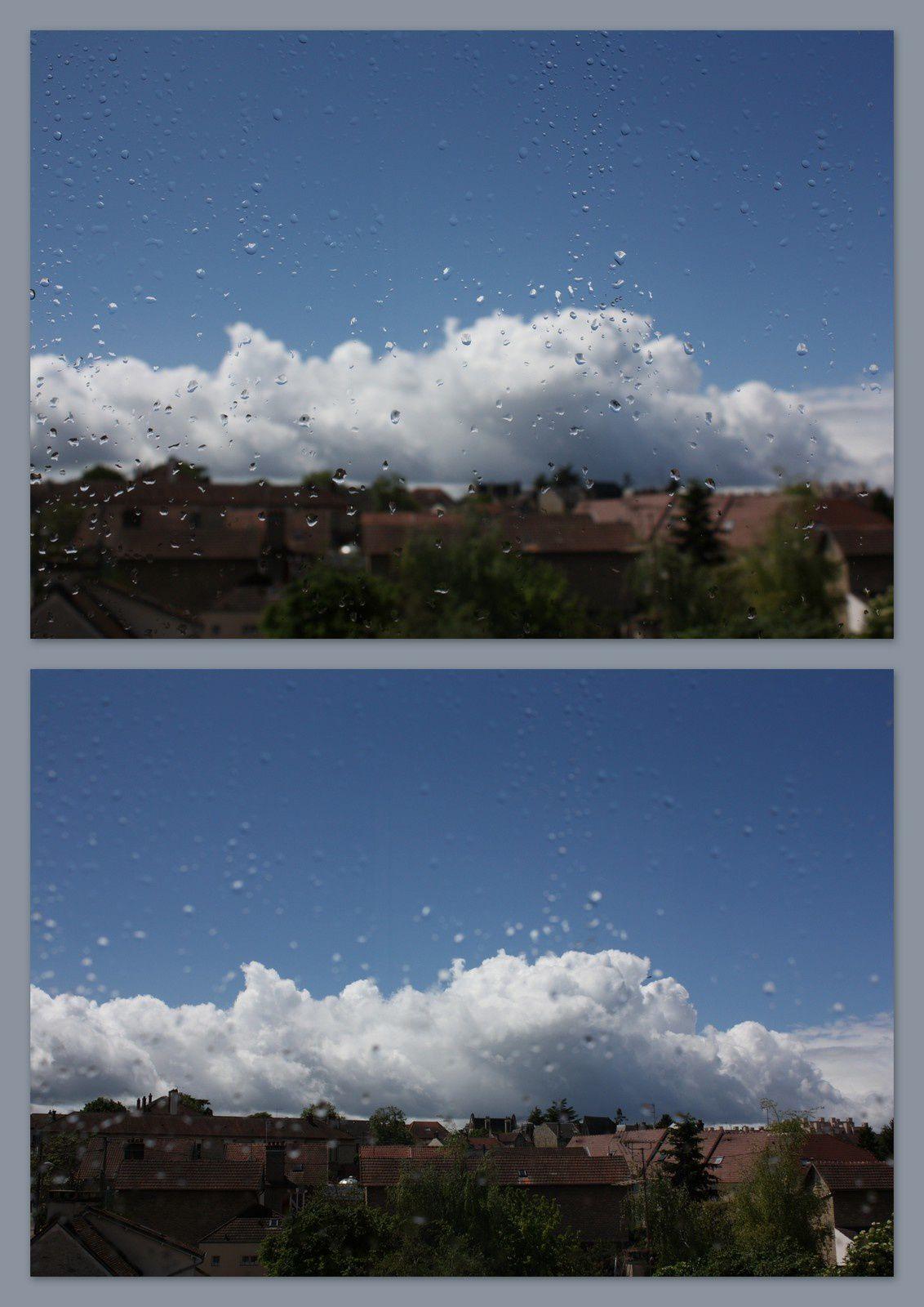 Etre dans les nuages...