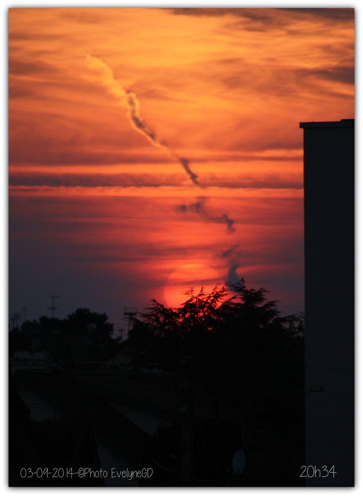 Un coucher de soleil... encore..