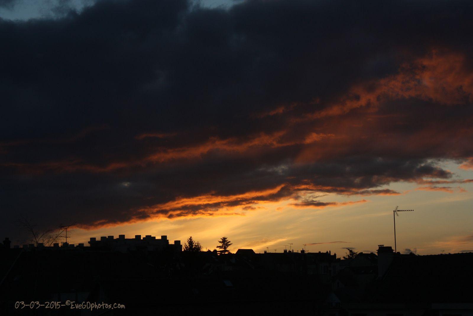 Nuages du matin, nuages du soir..