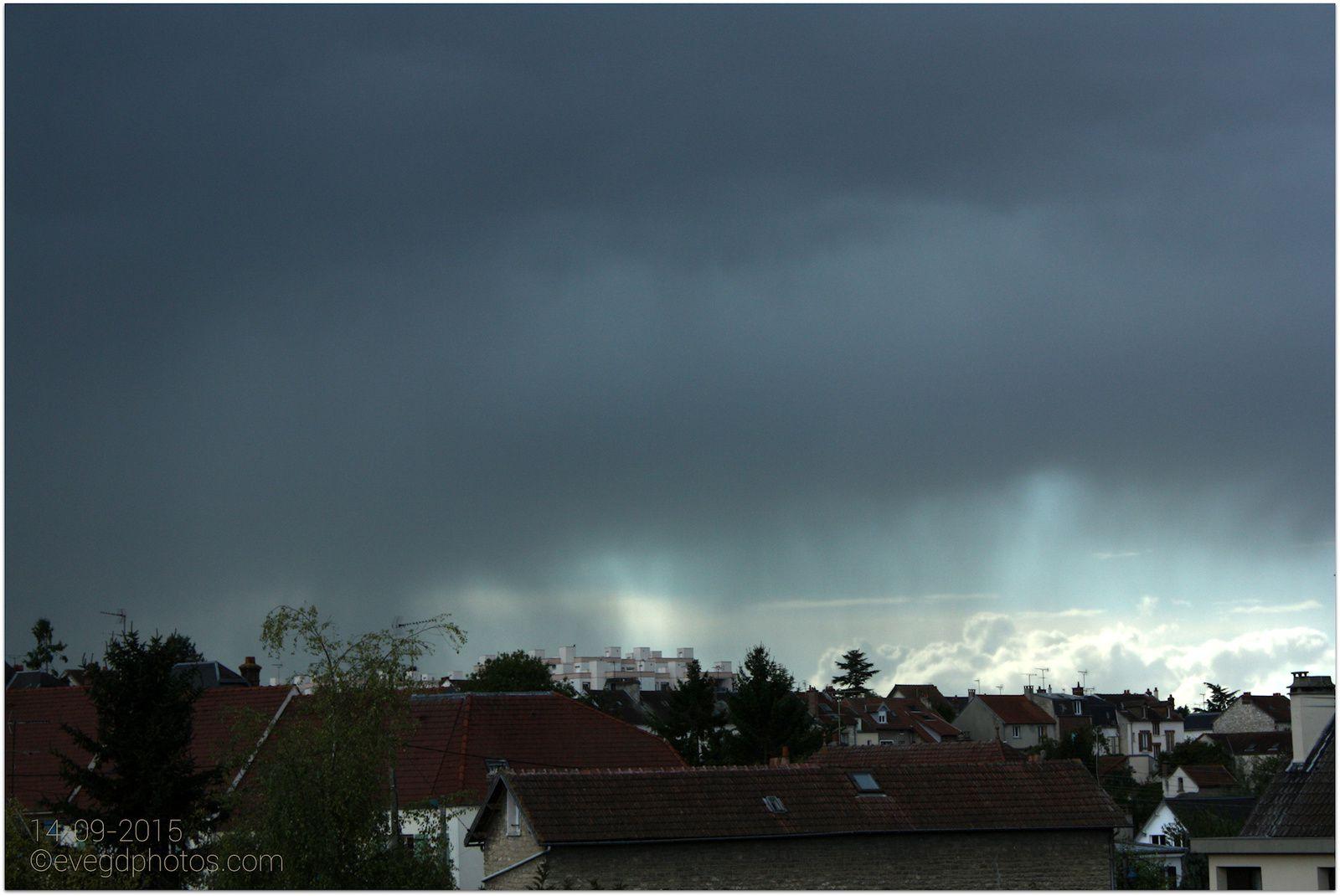Après le beau temps, la pluie...