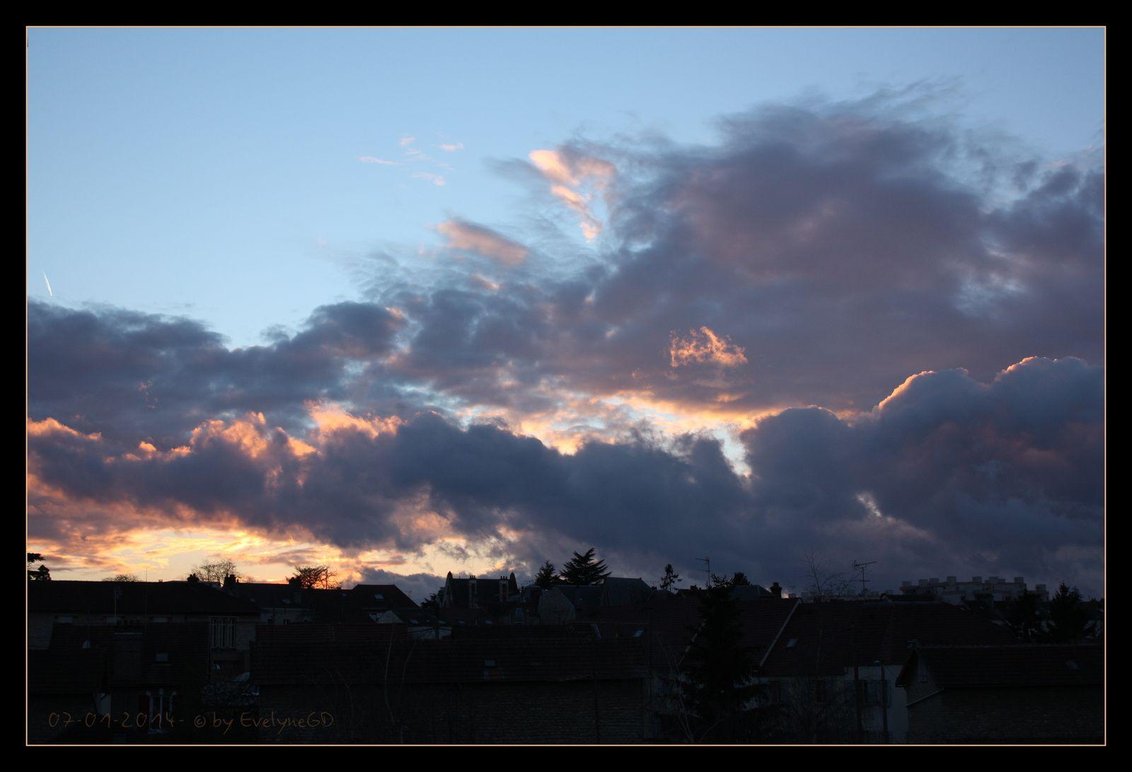 En 2014.. toujours de beaux couchers de soleil..