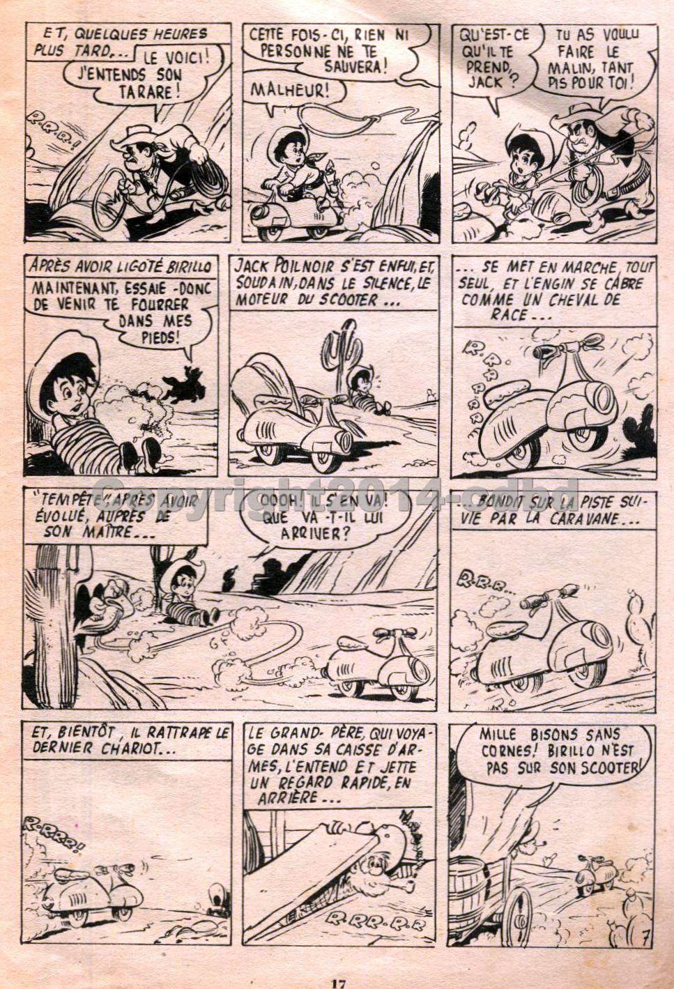 Bimbo trimestriel n°8  d'Octobre 1957- Pages 10 à 19