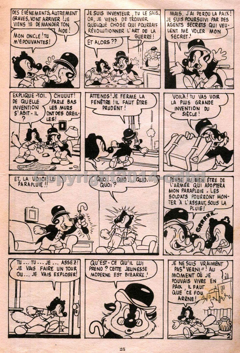 Bimbo trimestriel n°8  d'Octobre 1957- Pages 20 à 32