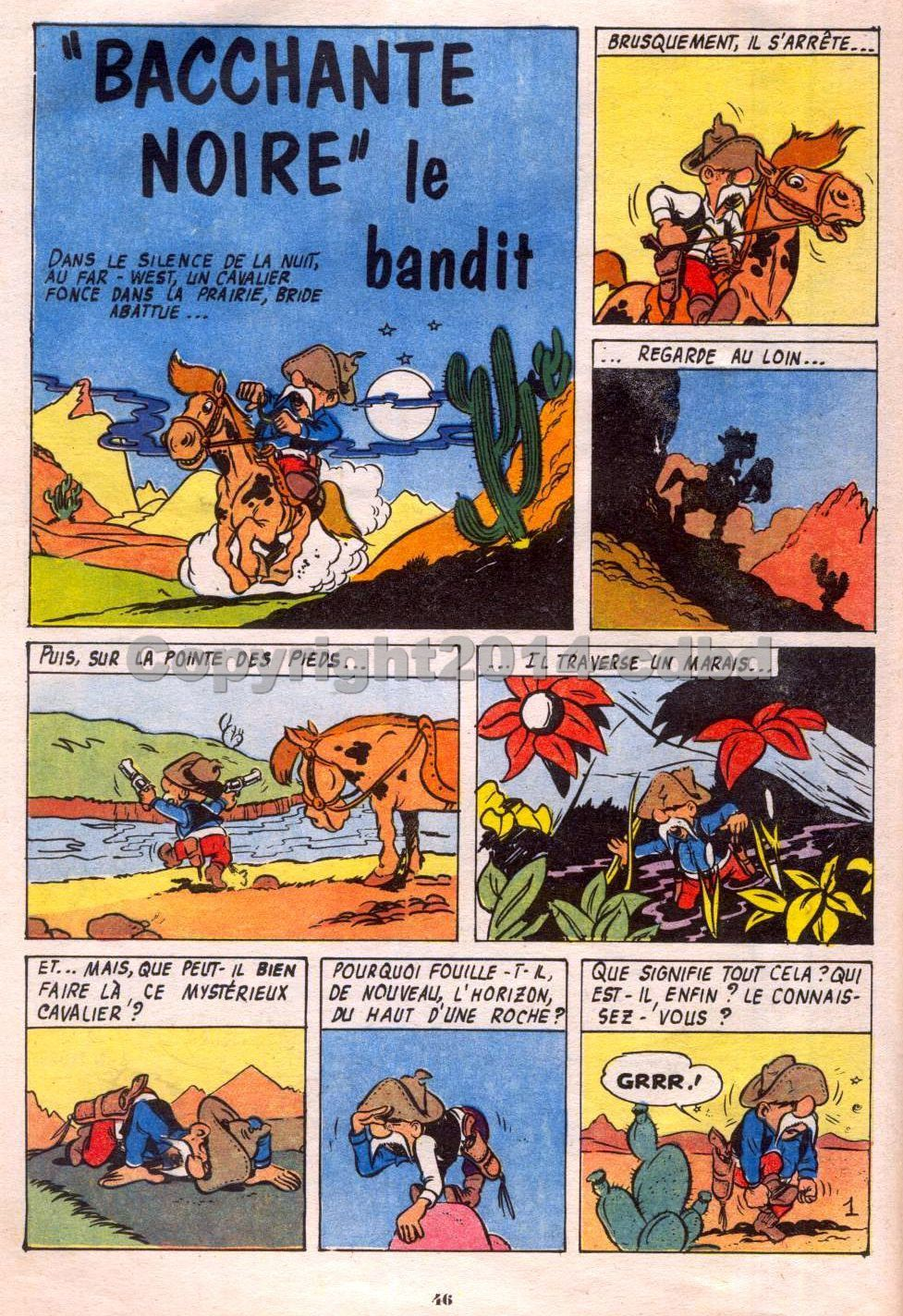 Bimbo trimestriel n°8  d'Octobre 1957- Pages 43 à 59
