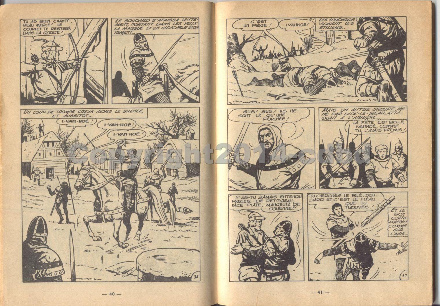 Ivanhoé mensuel n°39 de mai 1963- Pages 14 à 26