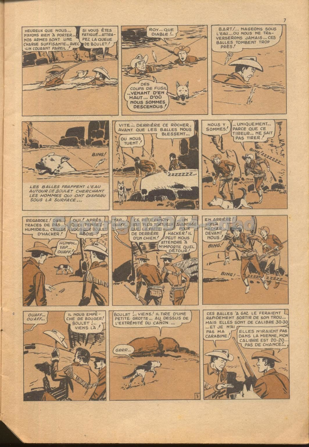 Roy Rogers mensuel n°30 de Décembre 1963 -p 01 à 14