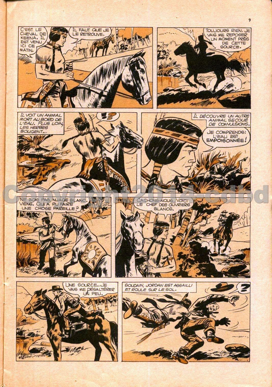 Aigle noir mensuel n°7 - Juin 1961 pages 01 à 17