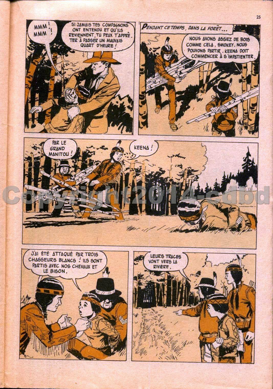 Aigle noir mensuel n°7 - Juin 1961 pages 18 à 27
