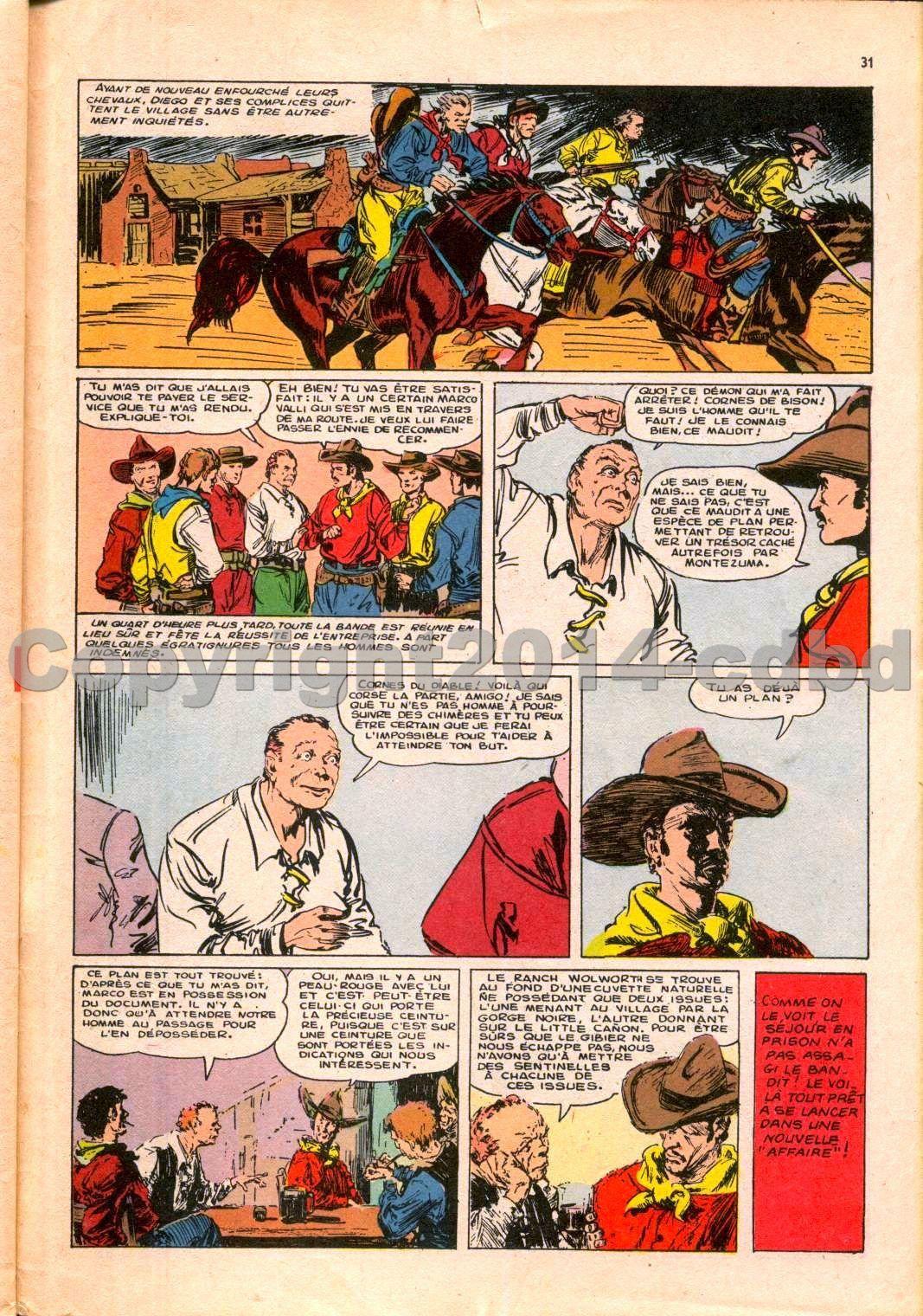 Aigle noir mensuel n°7 - Juin 1961 pages 28 à fin