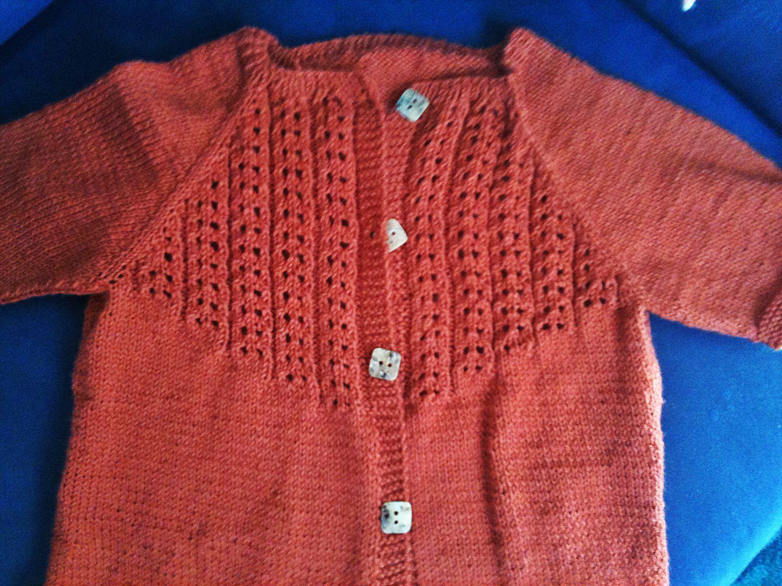 Panne de laine et gilet roux (2)