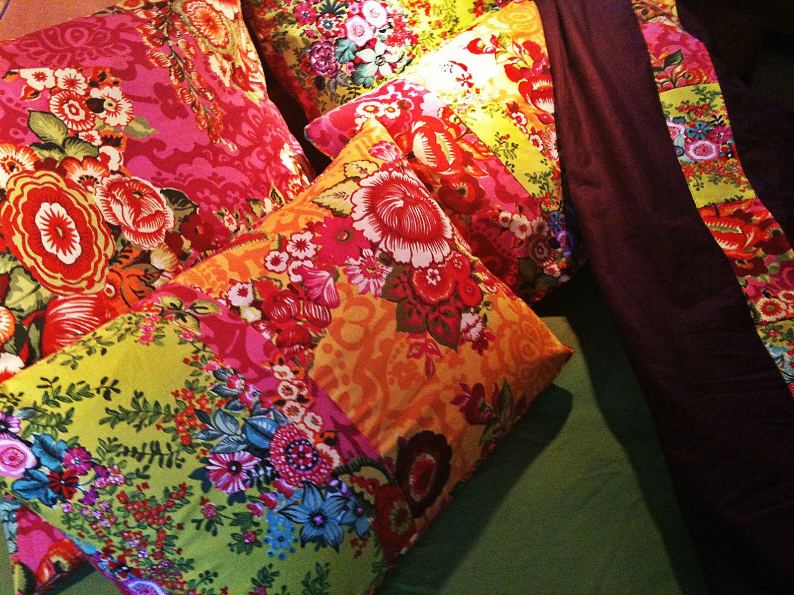 Color bed... pour mettre un peu de printemps dans l'automne
