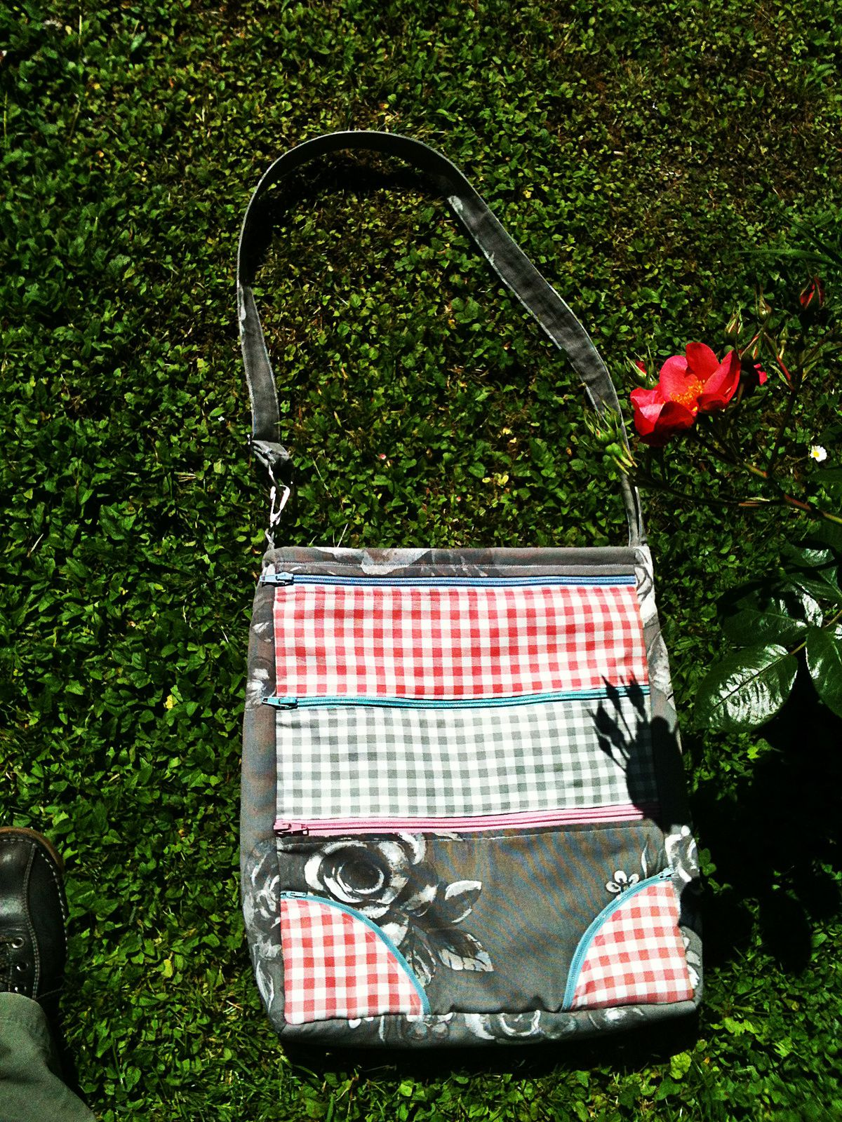 Dot dot dash bag