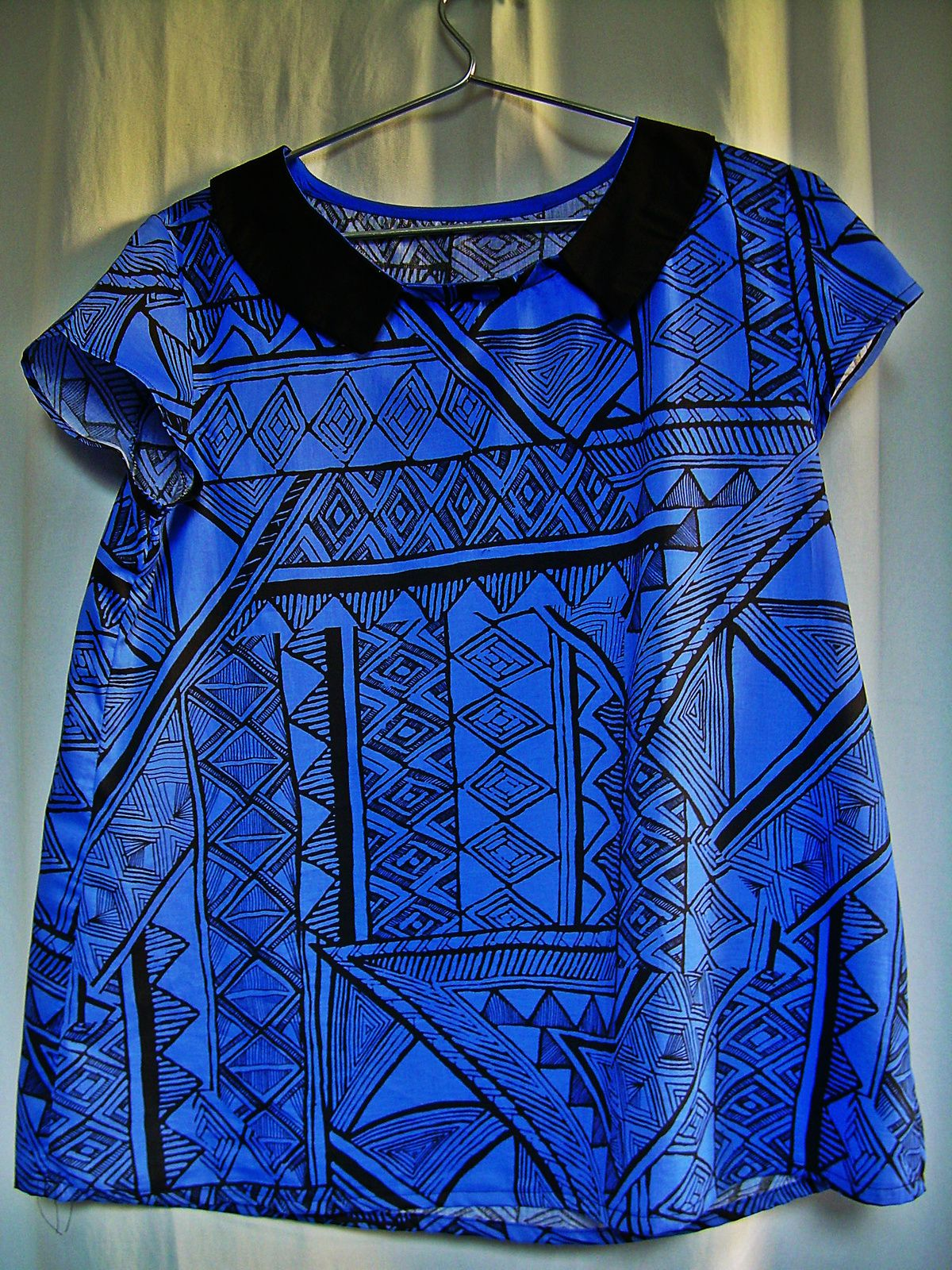 Le blues de la blouse bleue
