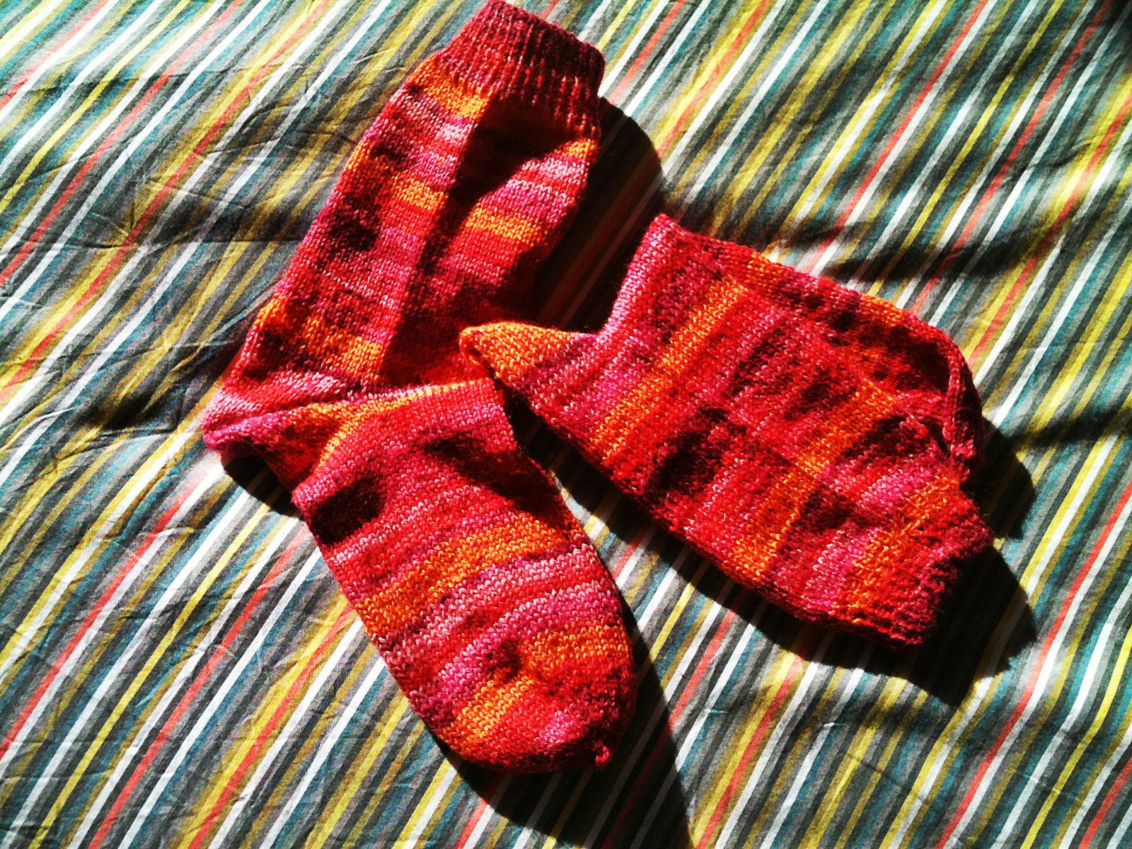 Doctor's mother socks