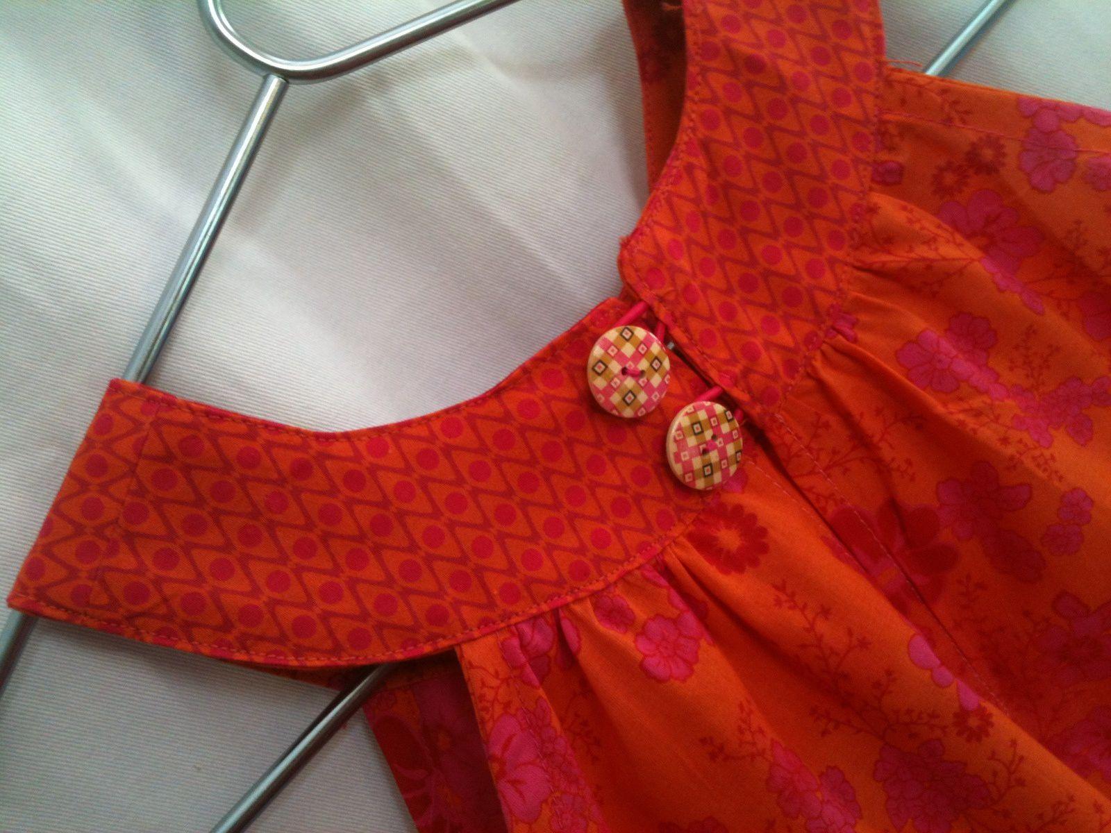 Orange et rose pour Louison