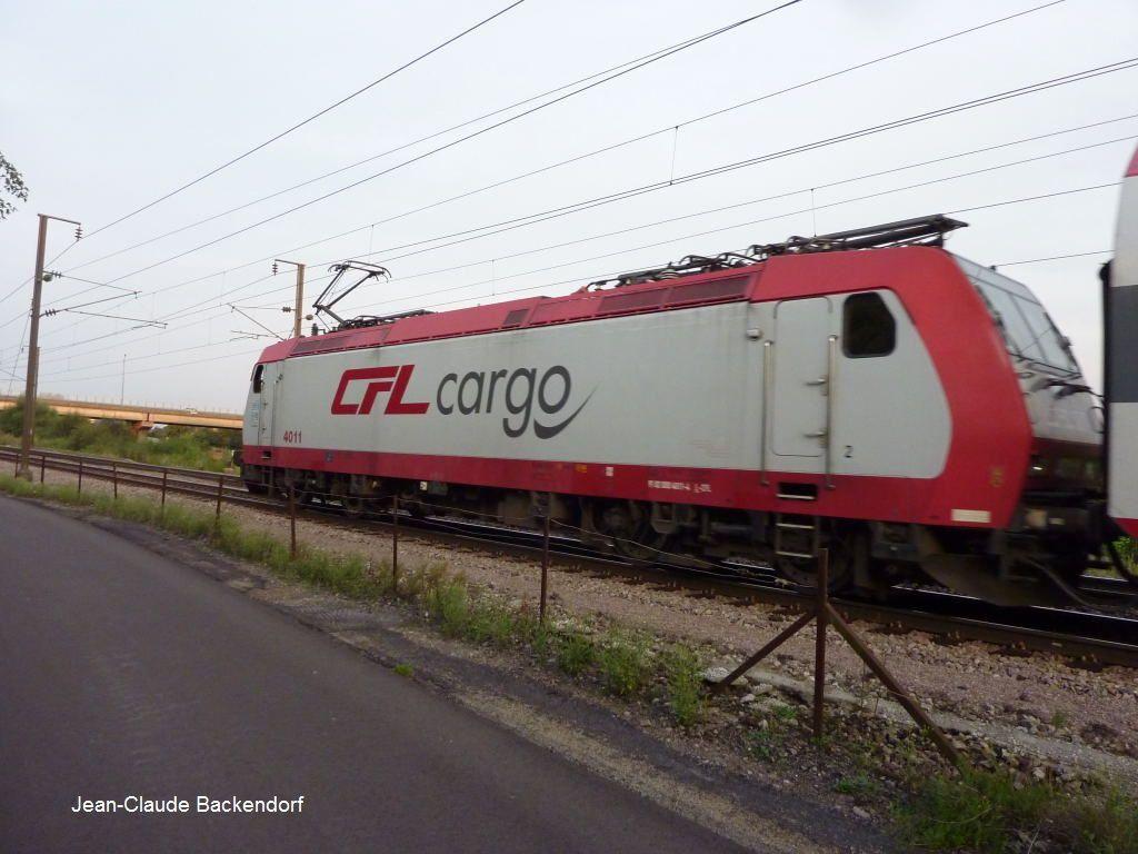 La CFL4011 à Livange.