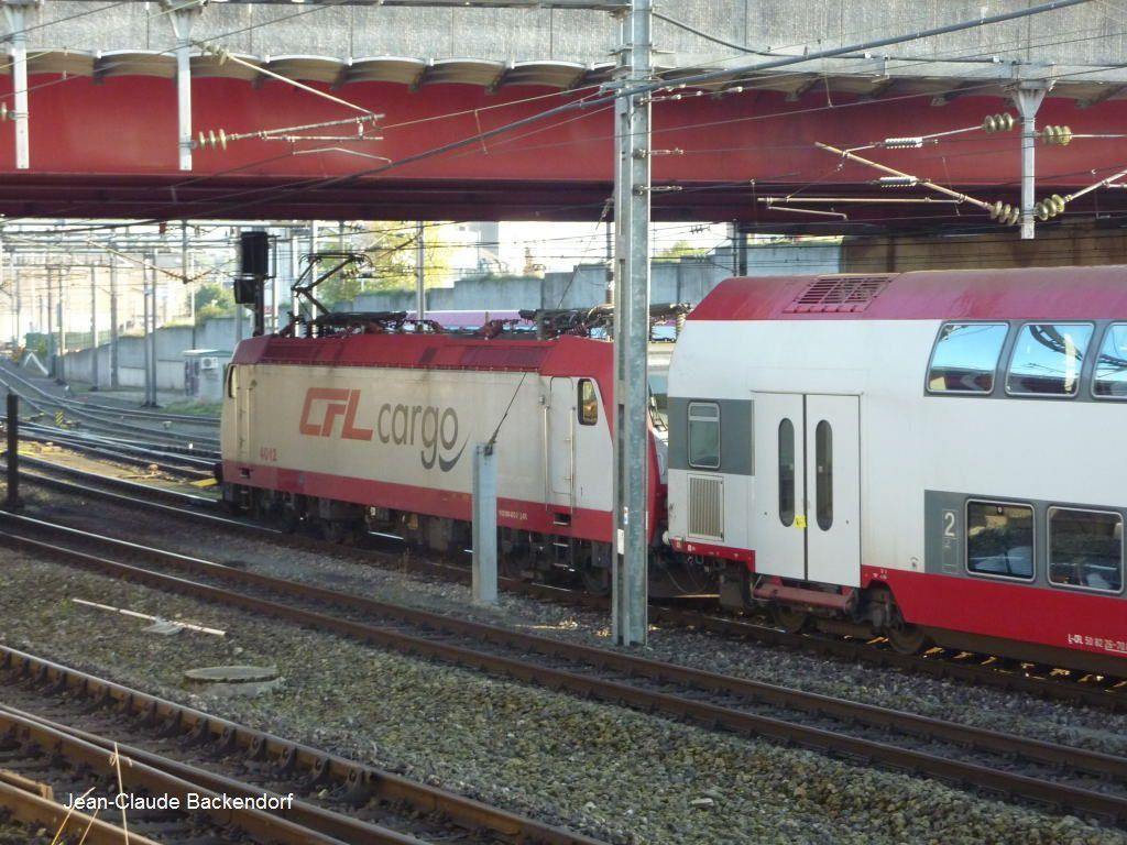 Voici la seule photo que j'ai de la 4012 (Gare de Luxembourg).