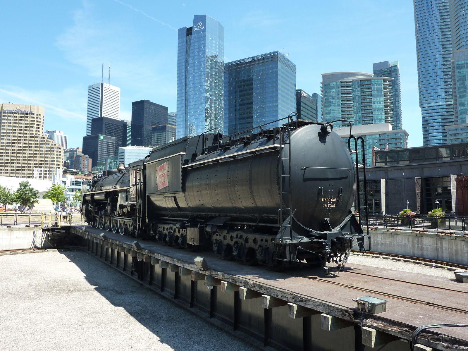 Le musée du chemin de fer de Toronto