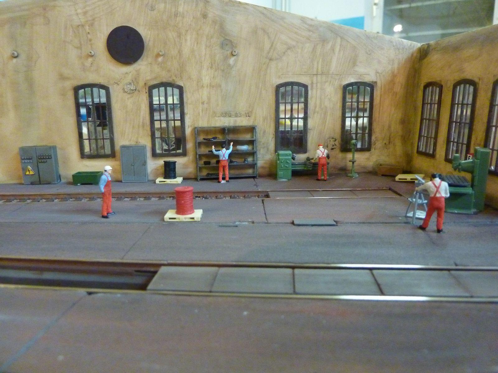 Les cheminots des CFL ont commencé à s'installer dans la nouvelle rotonde.