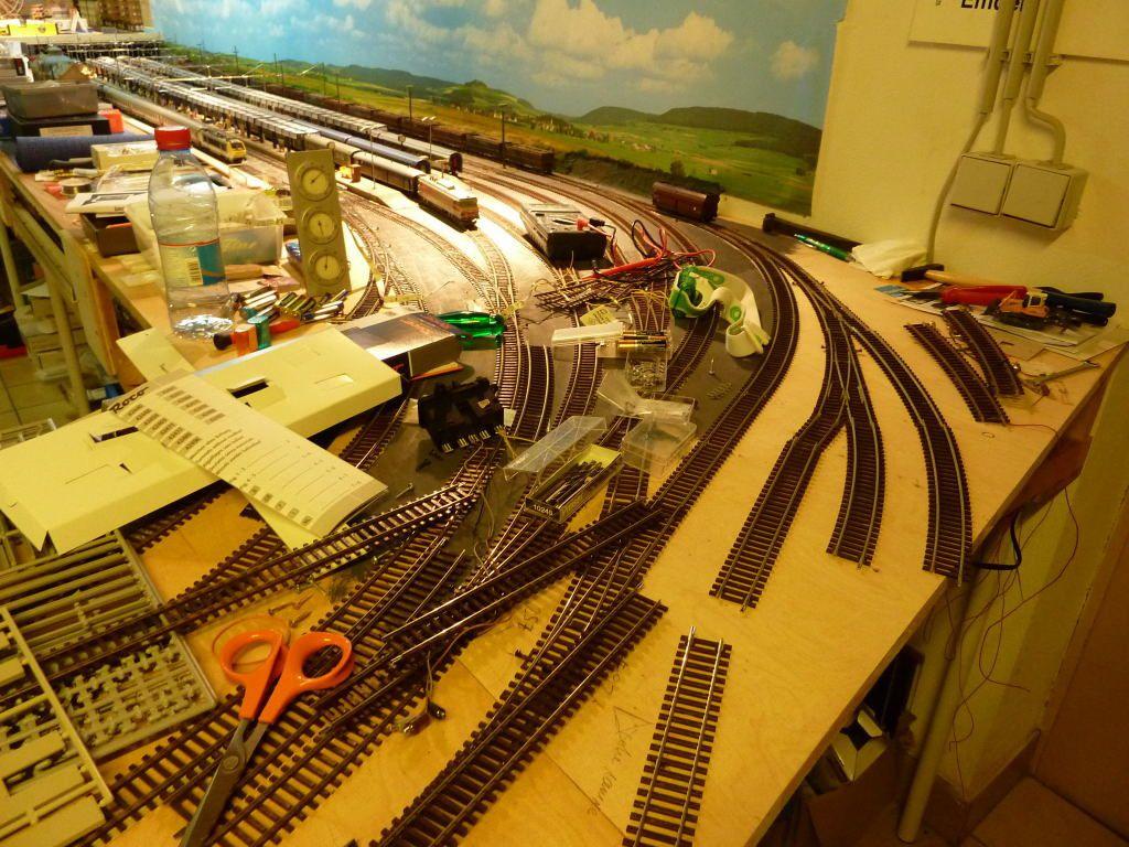 Voici une photo de mon chantier...