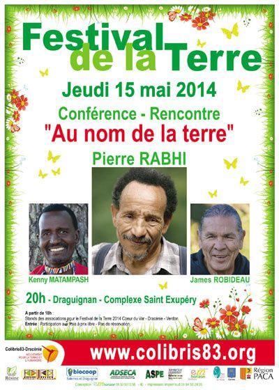 Pierre Rabhi à Draguignan le 15 Mai.