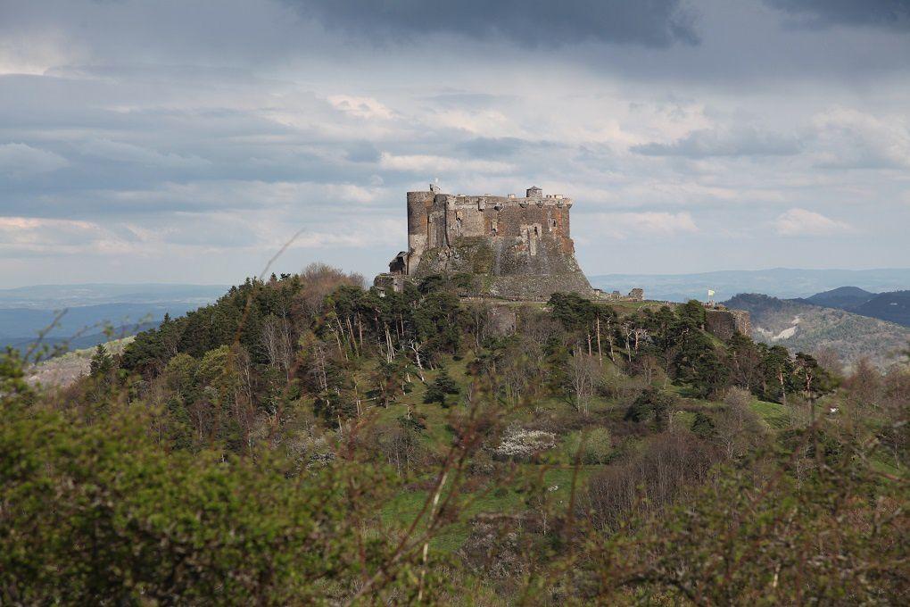 Vue du château et de sa position dominante