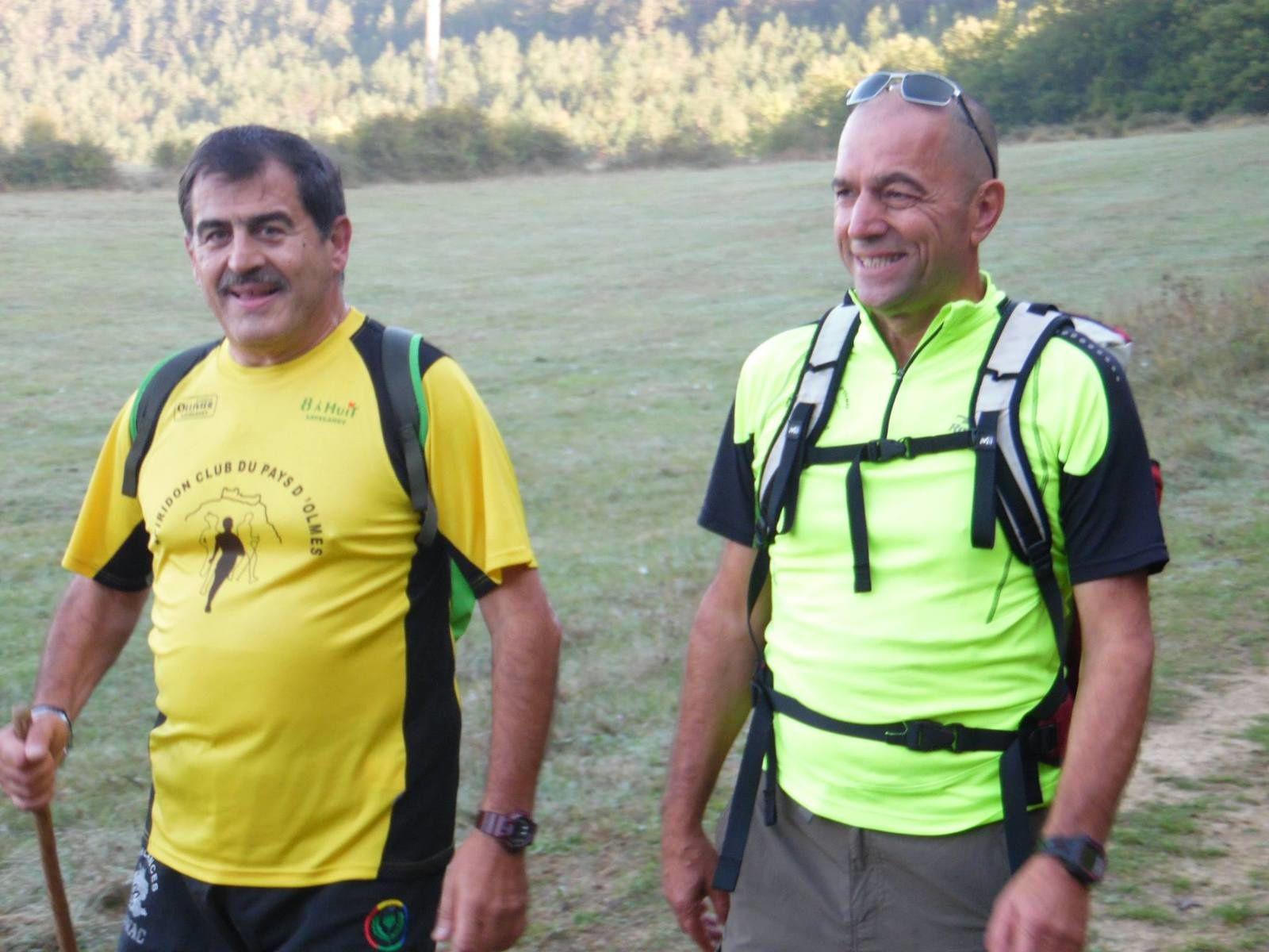 Tour du lac de Montbel 2017