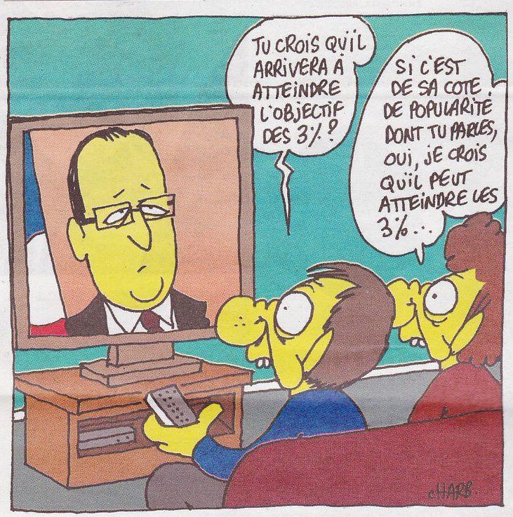 Hollande va finir par atteindre les 3%