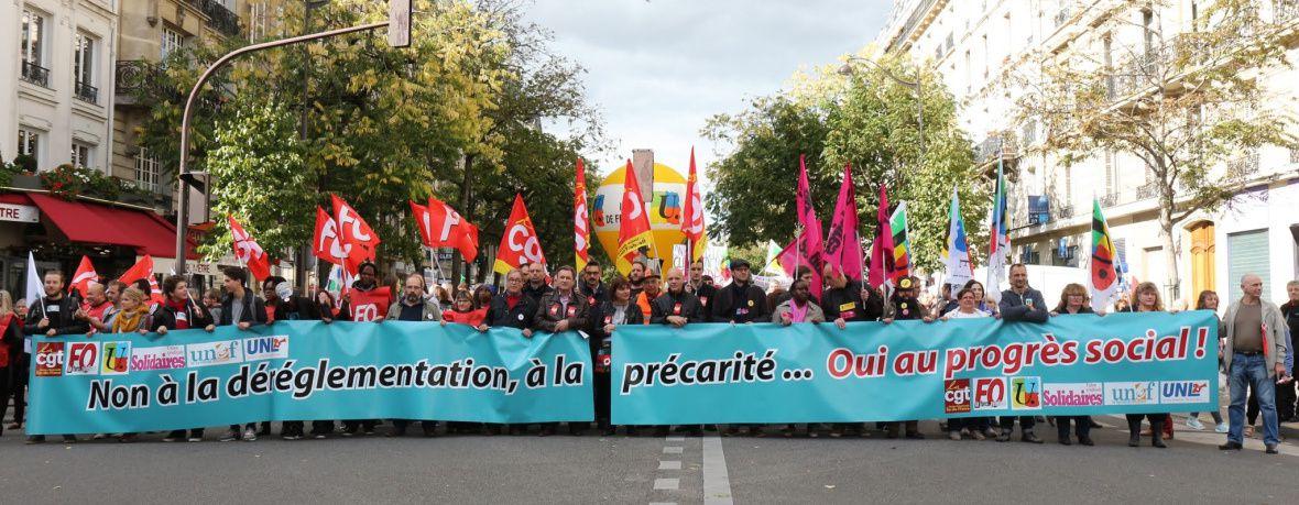 Pour un droit du travail protecteur des salarié-e-s: non au rapport Combrexelle!