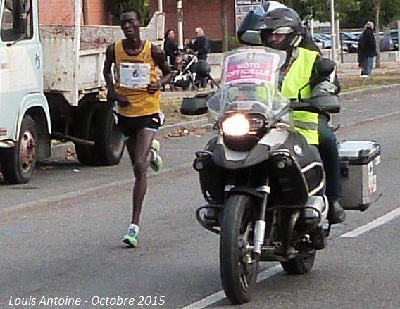 Le marathon de Toulouse
