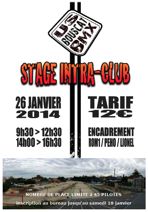Stage intra-club 2014