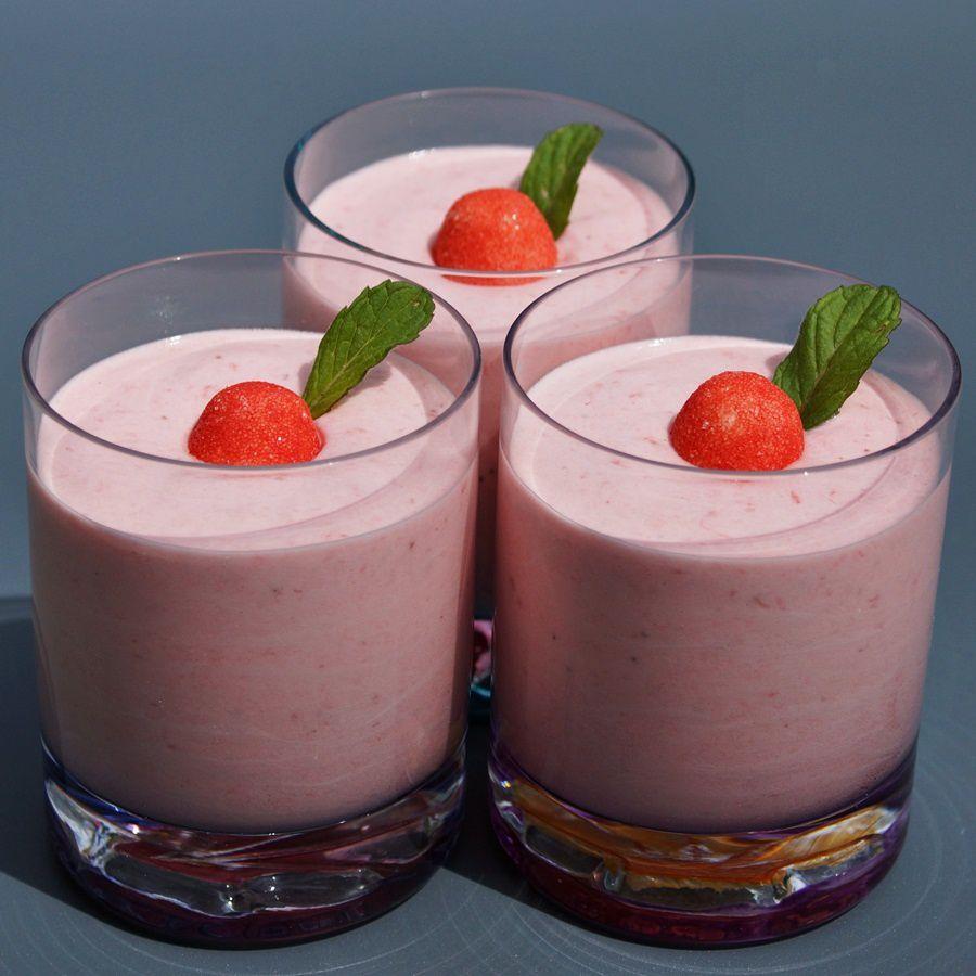 Mousse aux fraises (thermomix)