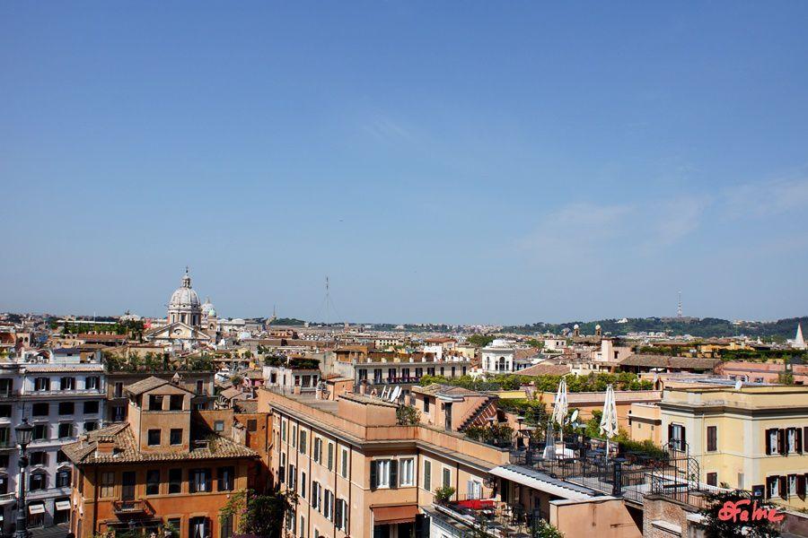 Rome, de la piazza di Spagna à la villa Borghese (2)