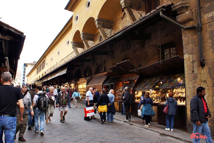 Florence, première découverte