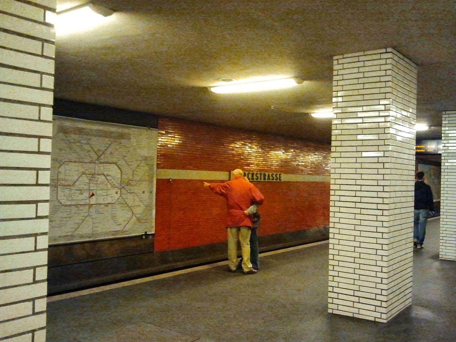 Le métro de Berlin, âme et histoire