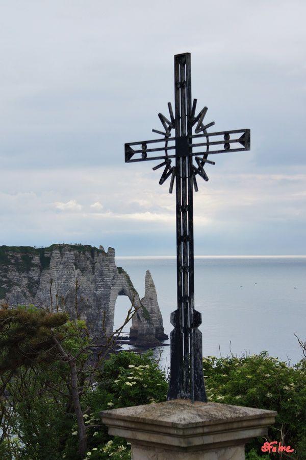 Sur les côtes normandes