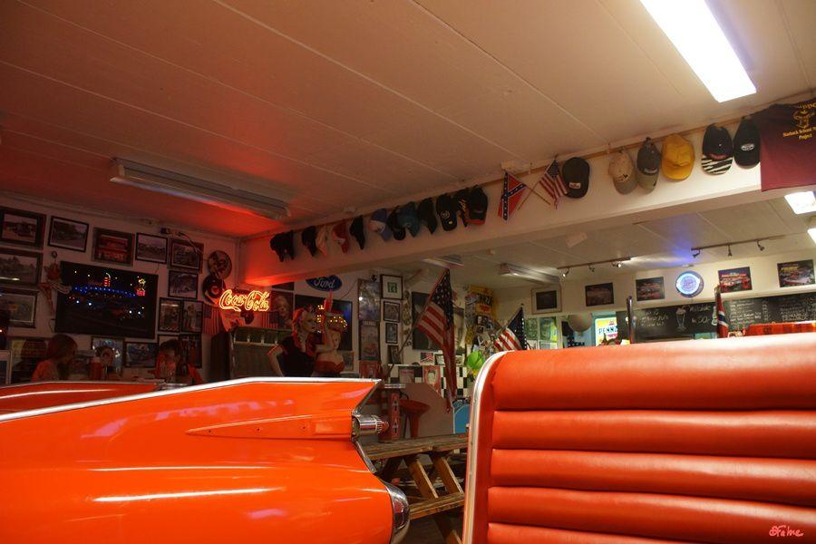Skarsmoen Gaard, Cadillac diner