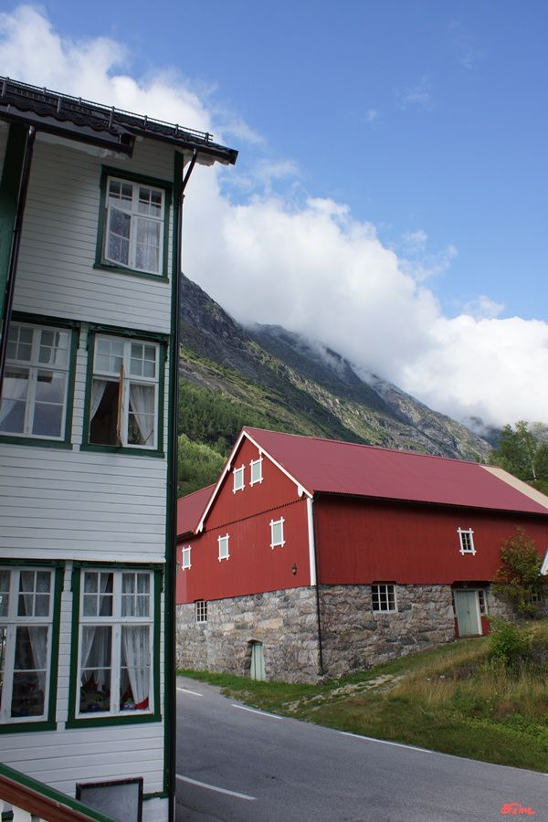 Geiranger, Hjelle, la route 258