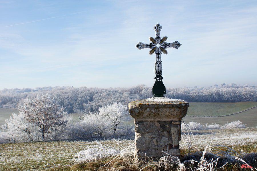 Puygouzon, la chapelle de Montsalvy
