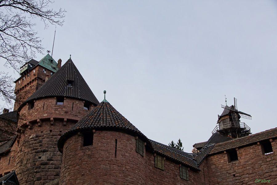 Au Château du Haut-Koenigsbourg