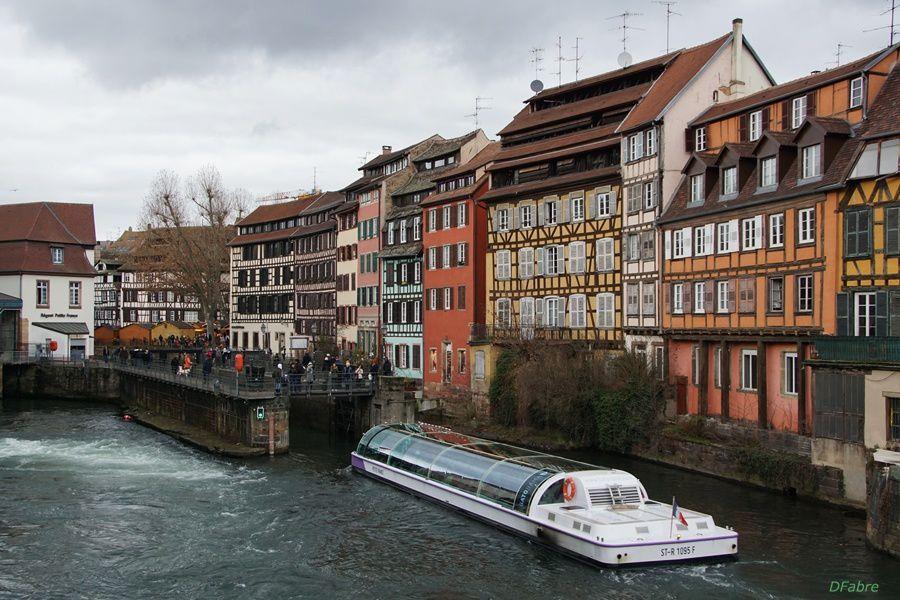 Hiver alsacien, à Strasbourg