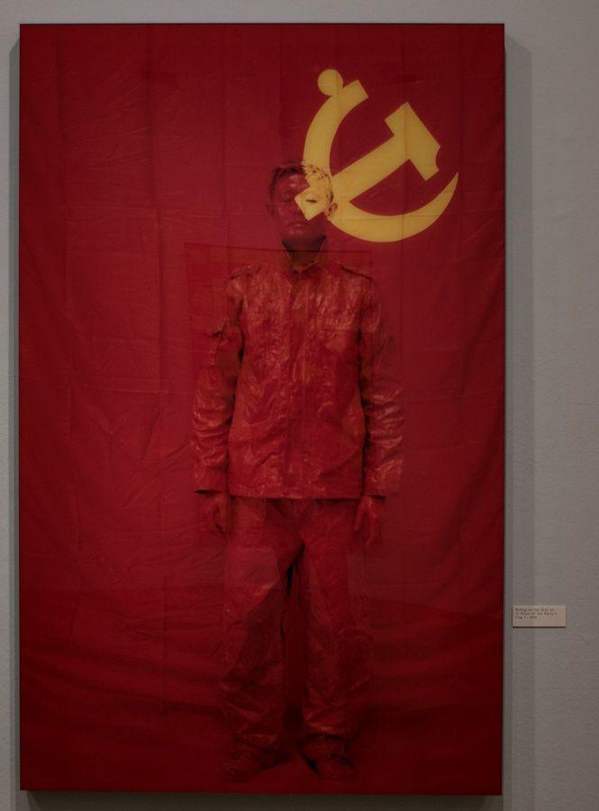 Maison européenne de la photographie, Liu Bolin ou la protestation silencieuse.