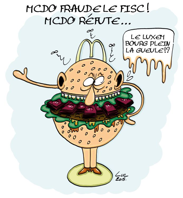 #mcdonalds #fastfood #fraude #fisc #impots #luxembours #evasion