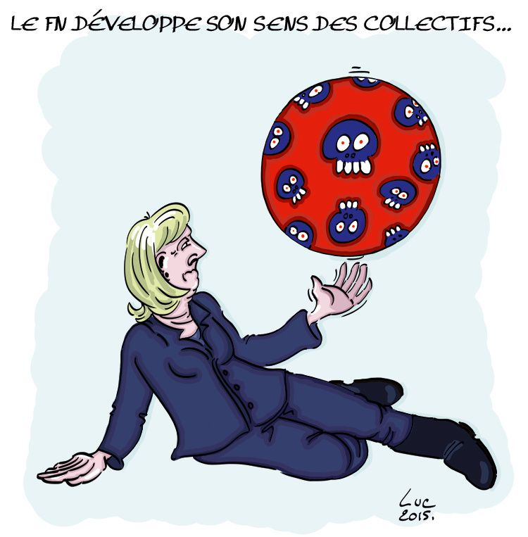 #politique #marine #collectif #fn #visionennoir #dictature #camouflet