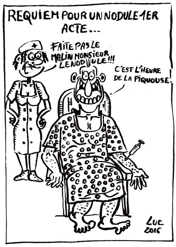 #dessins #postoperatoire #thyroide #operation