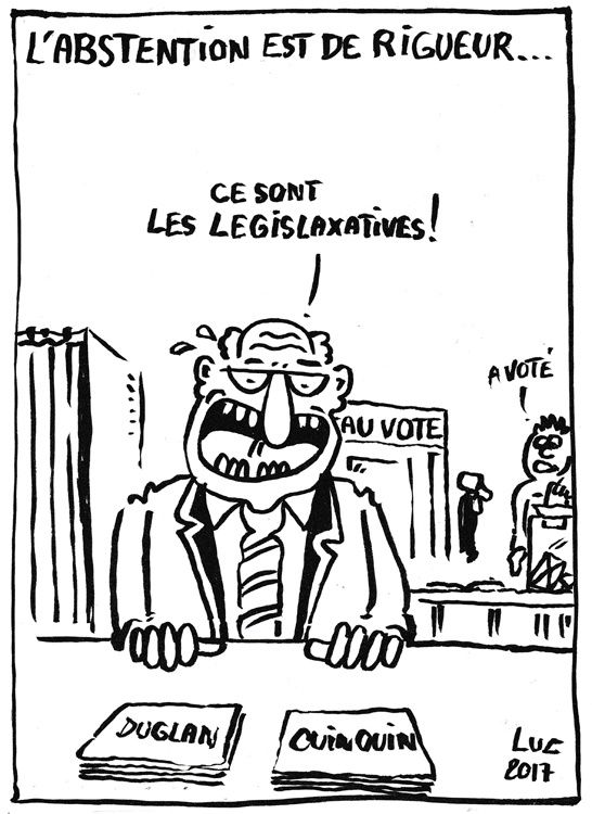 #Abstention #legislatives2017 #vote2017