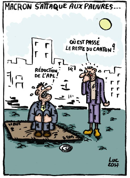 #reduction #APL #aideauxlogement #Macron