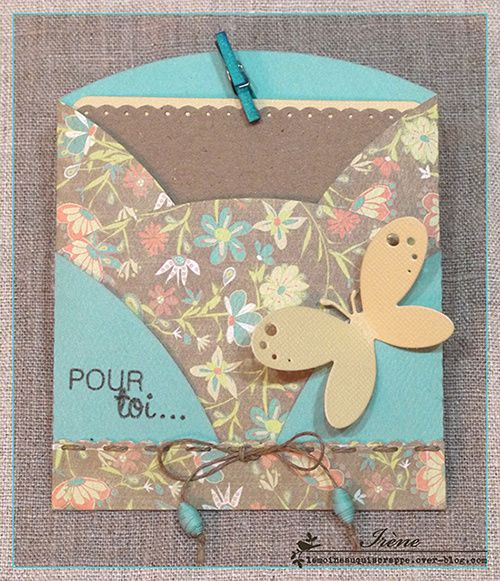 Carte double pochette